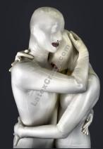 Models im Condom Catsuit aus weißem Latex
